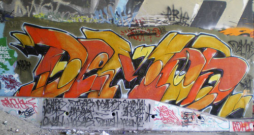 demos vancouver graffiti, vancouver graffiti art, demos wall graffiti, demos canada graffiti, demos graff pic