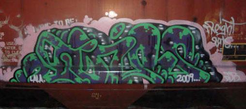 Gums Graffiti Freight